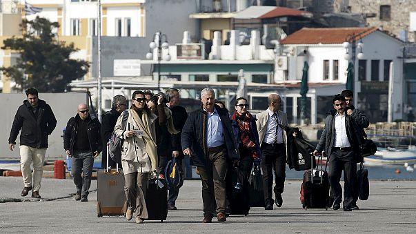 Türk uzmanlar Yunan adalarında