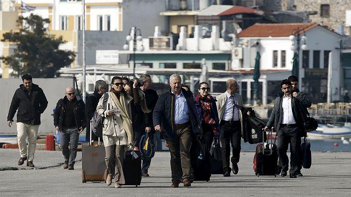 Migrants : des observateurs turcs à Lesbos pour superviser l'accord UE-Turquie