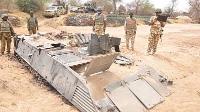 Nigerian Army uses drone to strike suspected Boko Haram base
