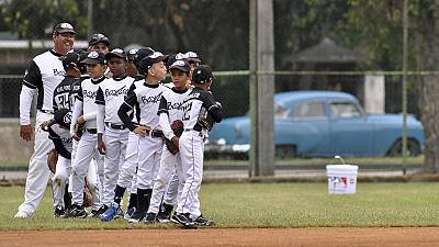 Baseball diplomacy as Cuba welcomes Tampa Bay Rays to Havana