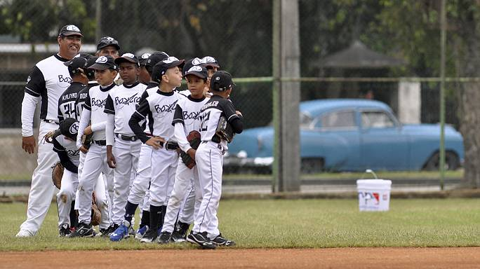 Baseball diplomacy as Cuba welcomes Tampa Bay Rays to Havana