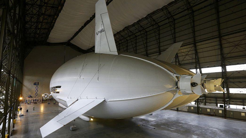У Британії представили найбільший у світі літальний апарат Airlander 10