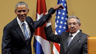 Obama ve Castro'dan Havana'da tarihi görüşme