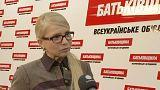 Timoshenko spera che la pressione internazionale porti alla liberazione di Nadia Savchenko