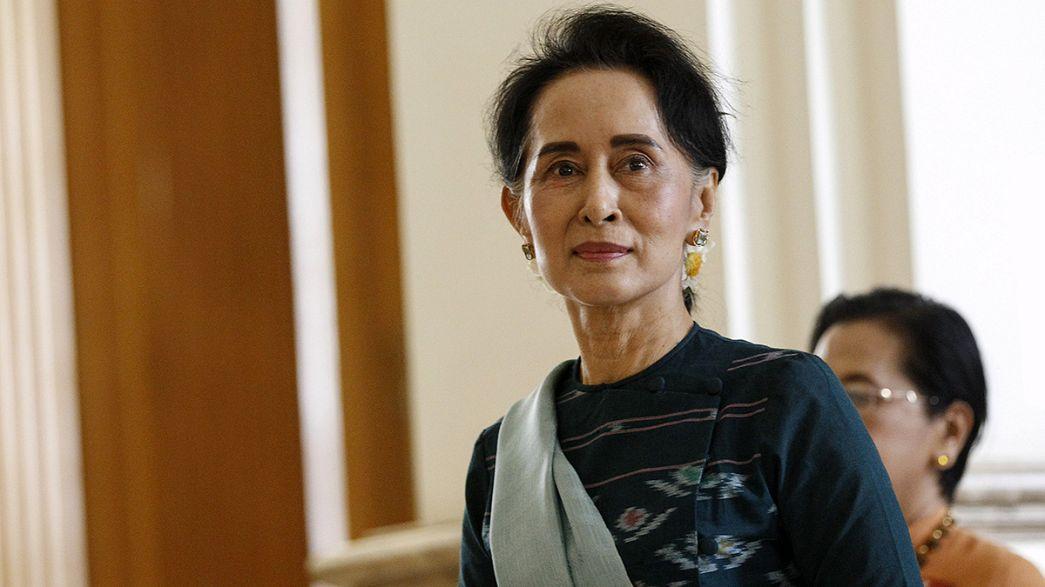 Aung San Suu Kyi será ministra en el nuevo gobierno birmano