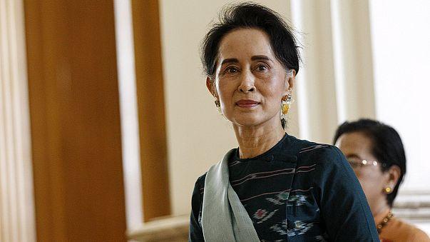 تسمية أونغ سان سوتشي داخل الحكومة الجديدة في ميانمار