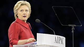 Clinton and Trump target each other at pro-Israel lobby conference