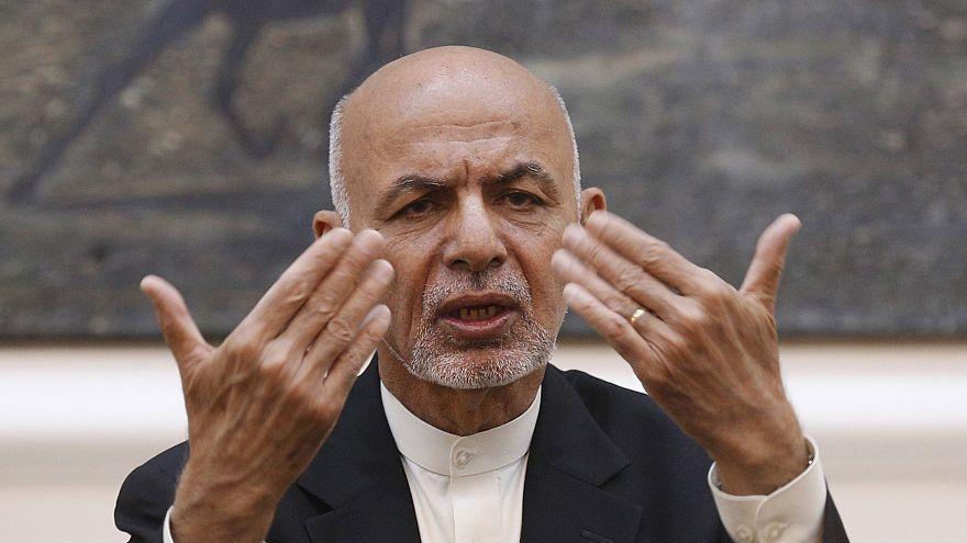 Image: Afghan President Ashraf Ghani