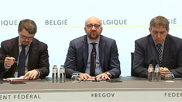 """""""Violent and cowardly"""" - Belgian PM Charles Michel"""