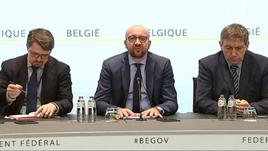 """Violent and cowardly"" - Belgian PM Charles Michel"