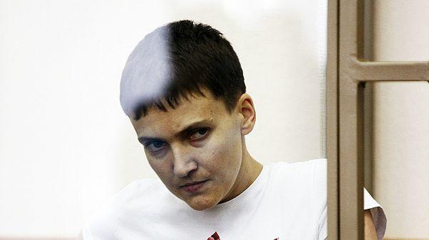 روسيا:السجن 22 عاما لقائدة الطائرة الأوكرانية سافتشنكو