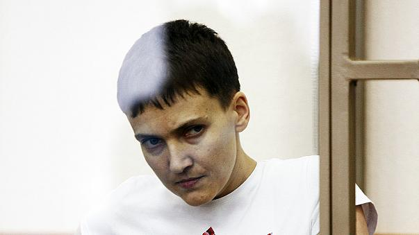 La piloto ucraniana Nadiya Sávchenko, condenada a 22 años de cárcel en Rusia