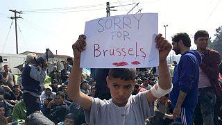 Sosyal medya bu kez #JeSuisBruxelles dedi