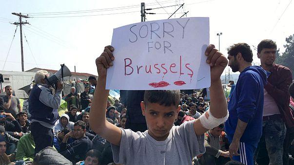 #JeSuisBruxelles: Reaktionen auf Attentate in Brüssel