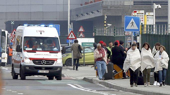 بروكسل تحت صدمة الهجمات