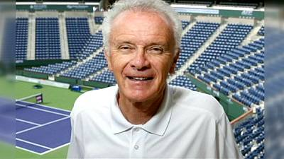 Tennis tournament boss resigns over 'I'd go down every night on my knees' comment