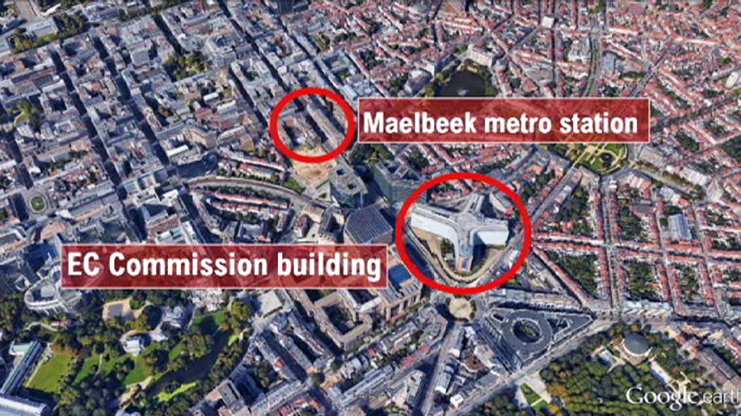 El corazón de Europa atacado por los terroristas: mapa de los atentados en Bruselas