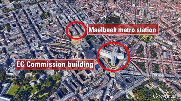 Bruxelles frappé en plein coeur : la carte des attentats