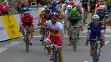 Bouhani wins again as peloton pays respects to Brussels