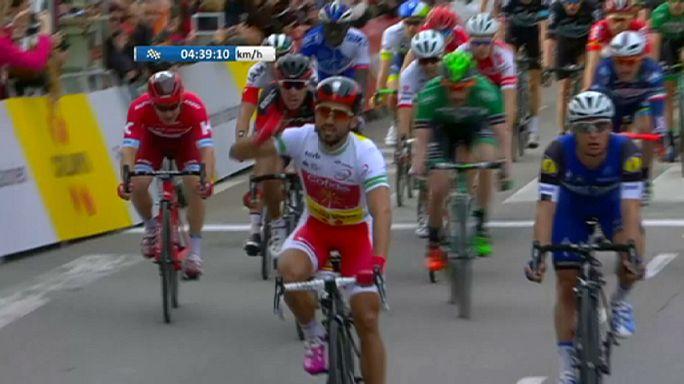 Nacer Bouhanni repite triunfo en la segunda etapa de la Volta Ciclista a Catalunya