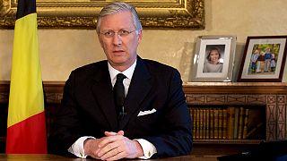 """Bélgica: el primer ministro y el rey apelan a la """"unidad"""""""