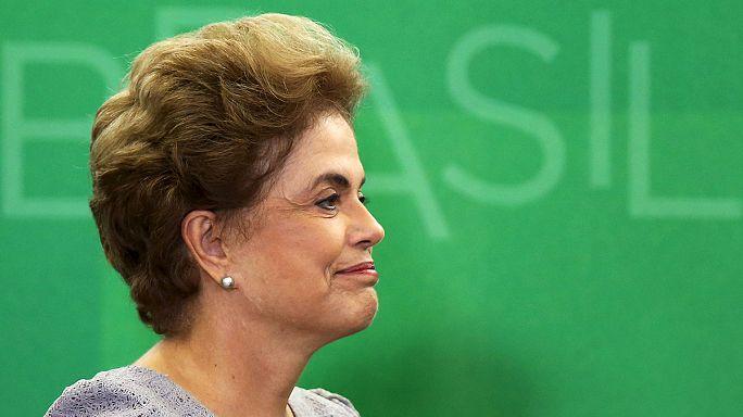 Brazil elnök: soha nem mondok le!