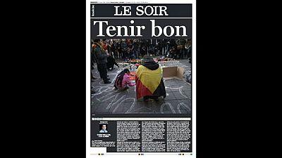 La prensa mundial, con la matanza de Bruselas en portada