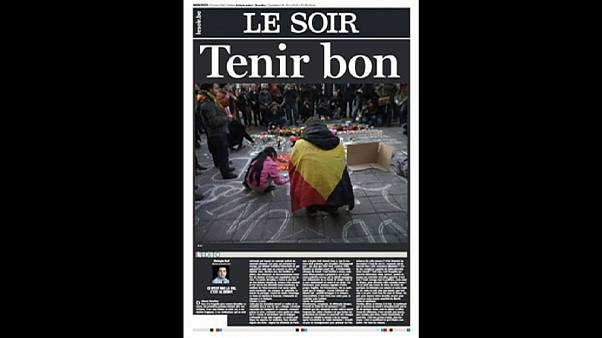 'Terror has touched the heart of Europe' say newspapers
