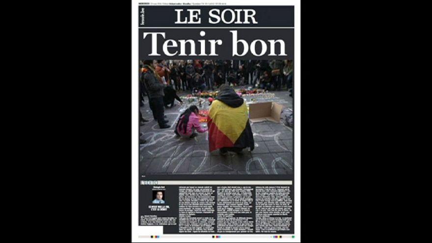 """""""Dunkelheit im Herzen Europas"""" - Internationale Schlagzeilen zum Terror in Brüssel"""