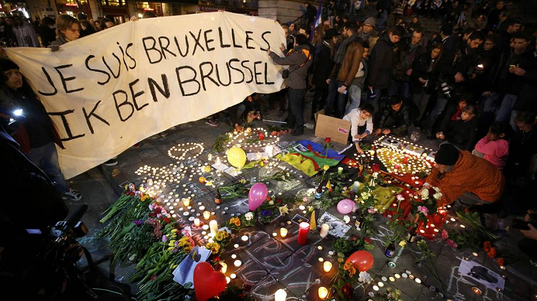 Brussels: three days national mourning underway