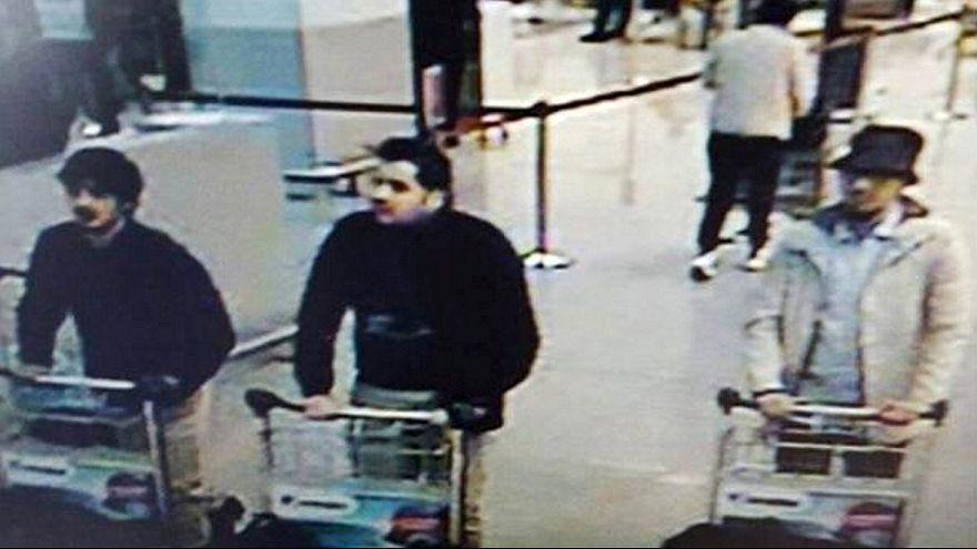 Brüksel'de havaalanındaki canlı bombaların kimlikleri açıklandı