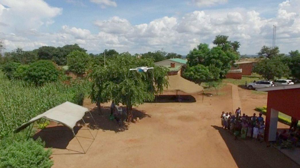 Malawi : des drones au service de dispensaires isolés