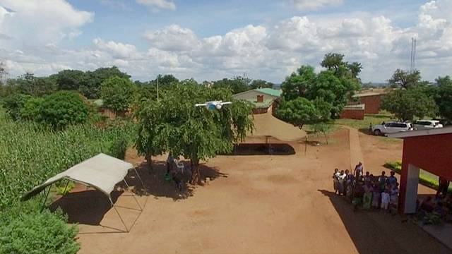 Drone deliveries fight HIV infection in rural Africa