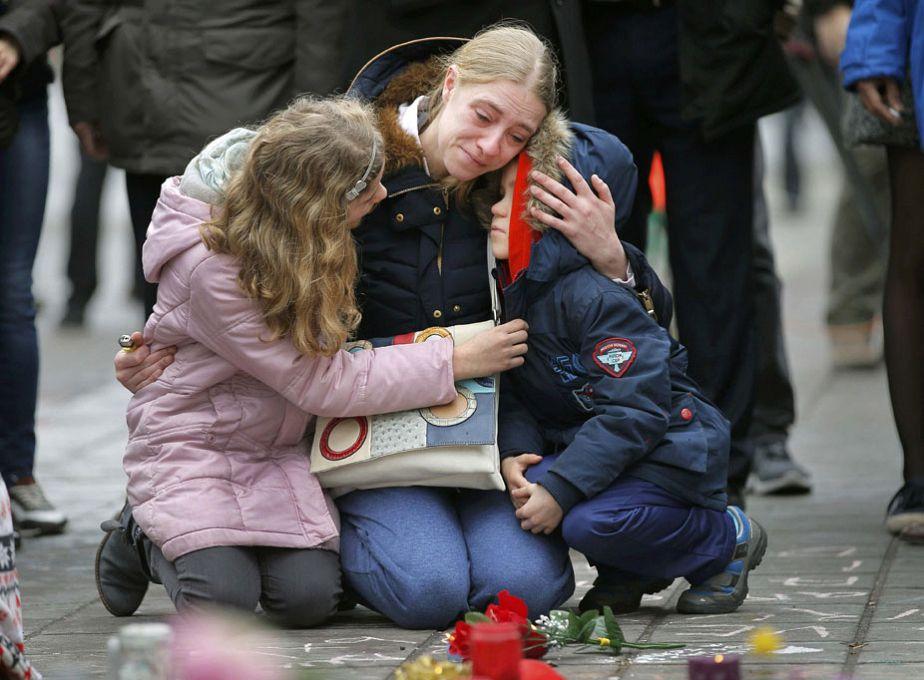 Bruxelles en deuil