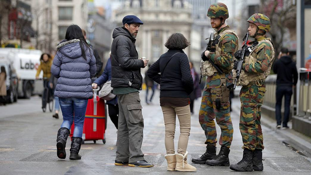 Brussels shows strength in the face of fear