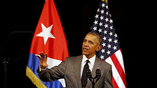 President Barack Obama recognises sanctions imposed on Cuba have not worked