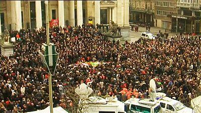 Attentats de Bruxelles : la Belgique se recueille