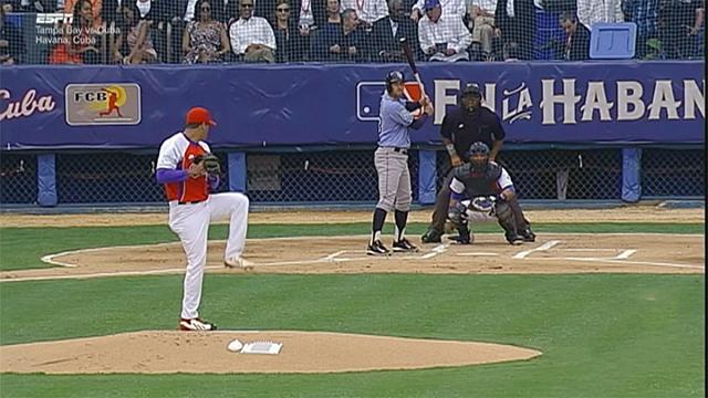 ABD ve Küba'dan tarihi beyzbol maçı
