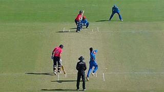 Angol krikettsiker Afganisztán ellen