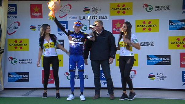 Katalonya Bisiklet Turu: Martin bir taşla iki kuş vurdu
