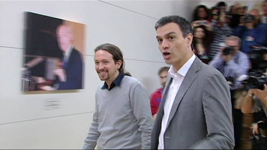 Spanish left tries to avoid fresh elections with talks next week