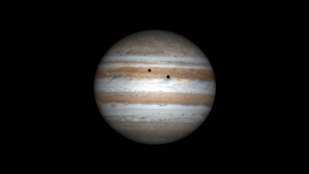 Double éclipse sur Jupiter