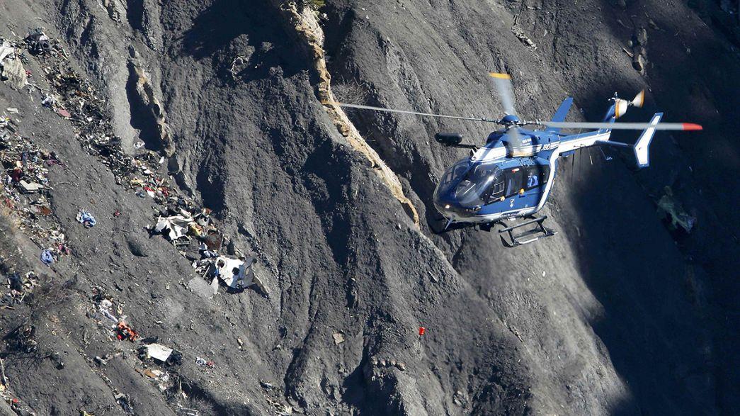 Gedenkfeiern zum Jahrestag des Germanwings-Absturzes