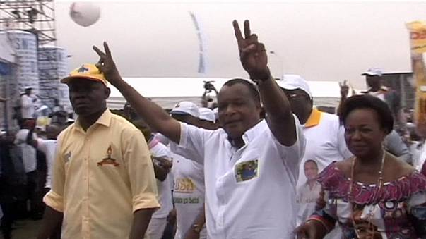 Republic of Congo president is re-elected