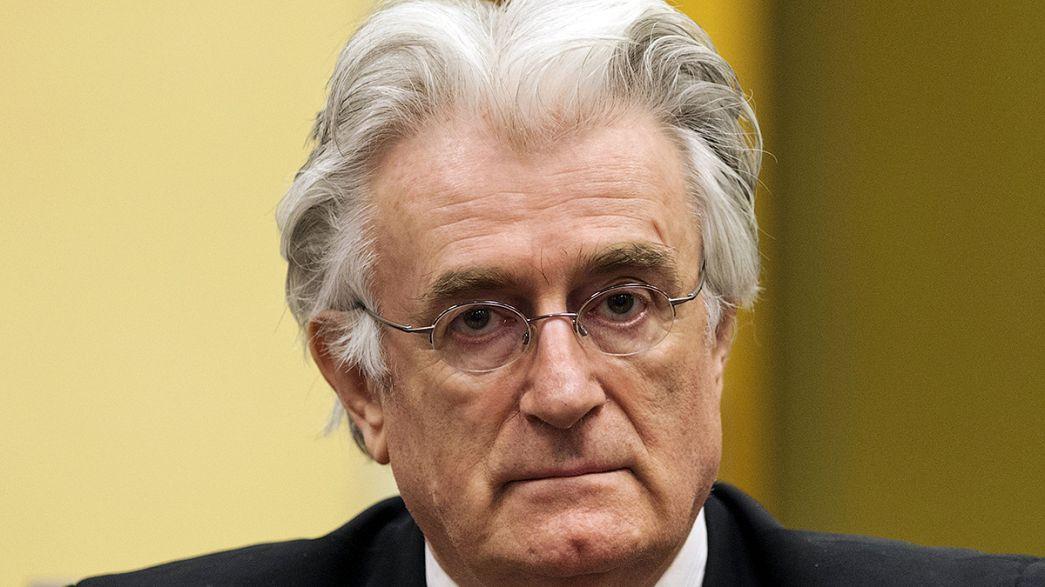 A la espera del veredicto histórico contra Radovan Karadzic por su participación en la guerra de Bosnia