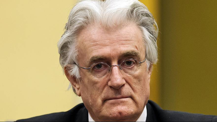 UN-Kriegsverbechertribunal: Urteil gegen Ex-Serbenführer Karadžić