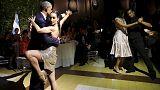Obama a ritmo de tango