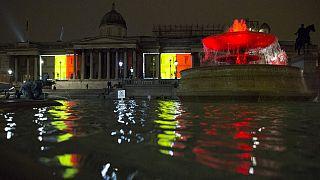 معالم لندن الشهيرة تتضامن مع ضحايا اعتداءات بروكسل