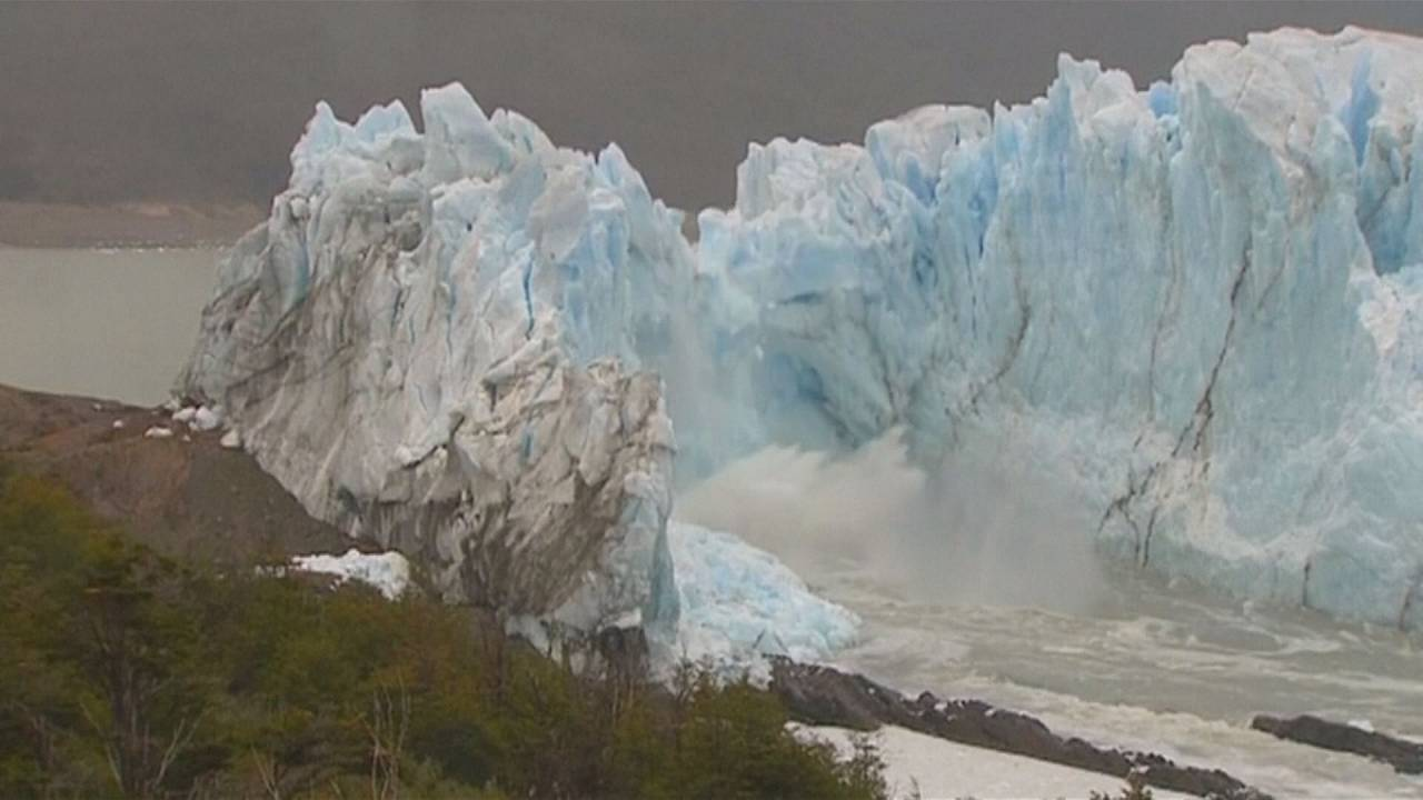 The consequences of global warming on glaciers and sea levels