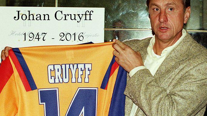 Dutch football legend Cruyff dies aged 68
